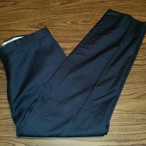 Men's dress pants, 38x29, navy blue